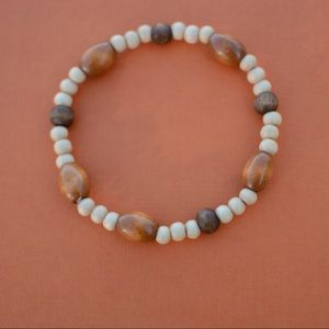 Jewelry - Wood Bead Anklet